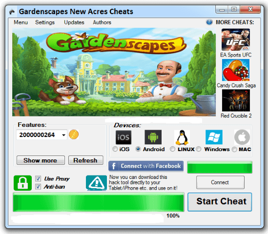 Gardenscapes Hack 2018